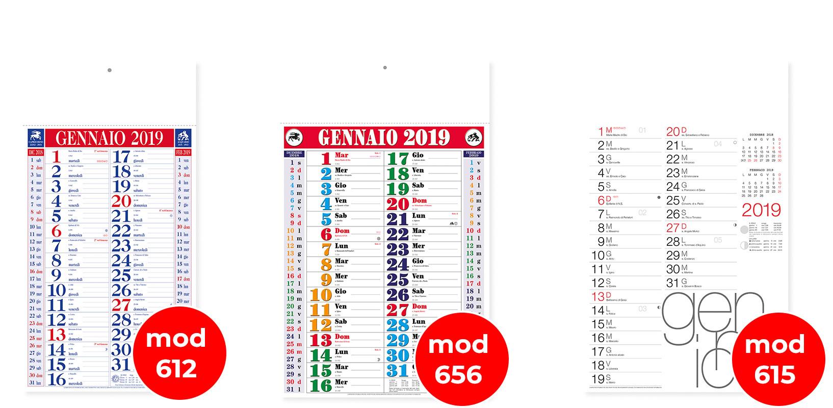 Calendario Olandese Da Stampare.Stampa Calendari Online Spirale Punto Metallico E Da