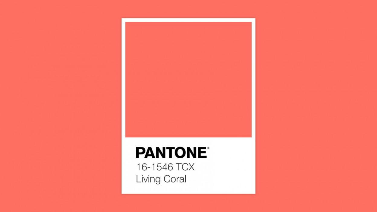 PANTONE 2019 colore dell'anno Living Coral 16-1546 TCX