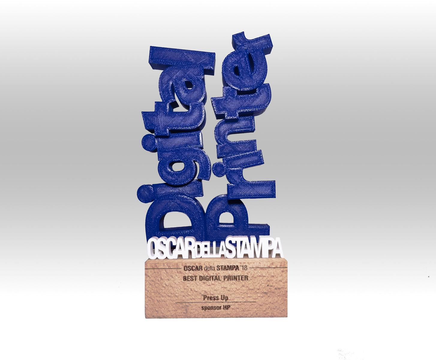 Premio Best Digital Printer a PressUP