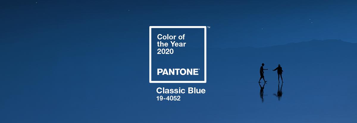 Pantone colore dell'anno 2020 Classic Blue